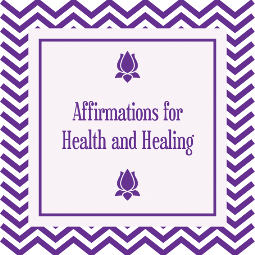 Affirmations for Health and Healing MP3