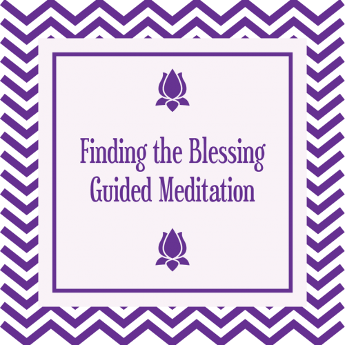 Finding the Blessing Guided Meditation MP3