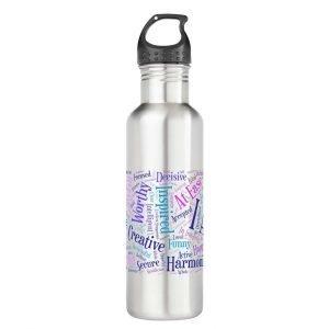 I Am Affirmations Water Bottle