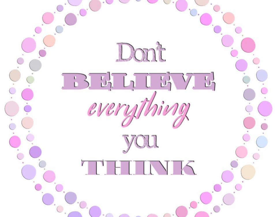 Perceptions of Reality: Don't Believe Everything You Think