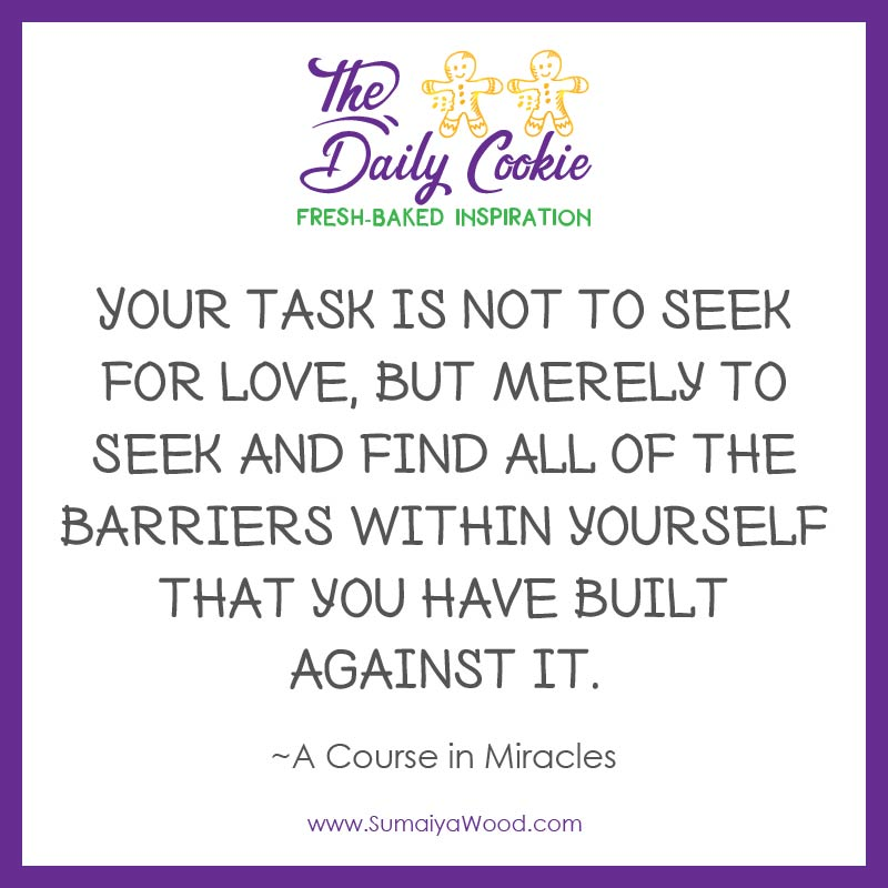 Find the Barriers Within Yourself