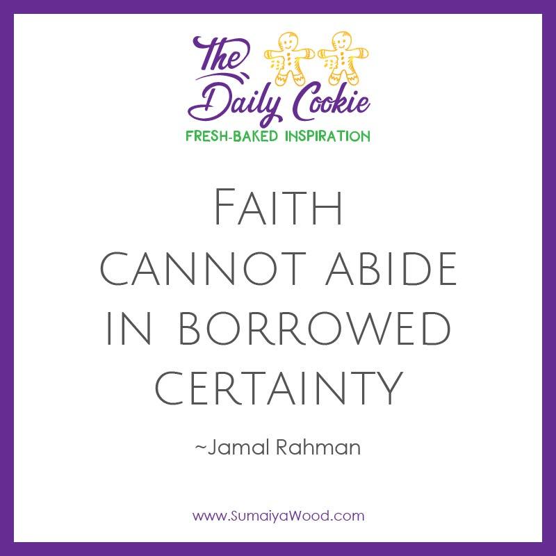 Borrowed Certainty