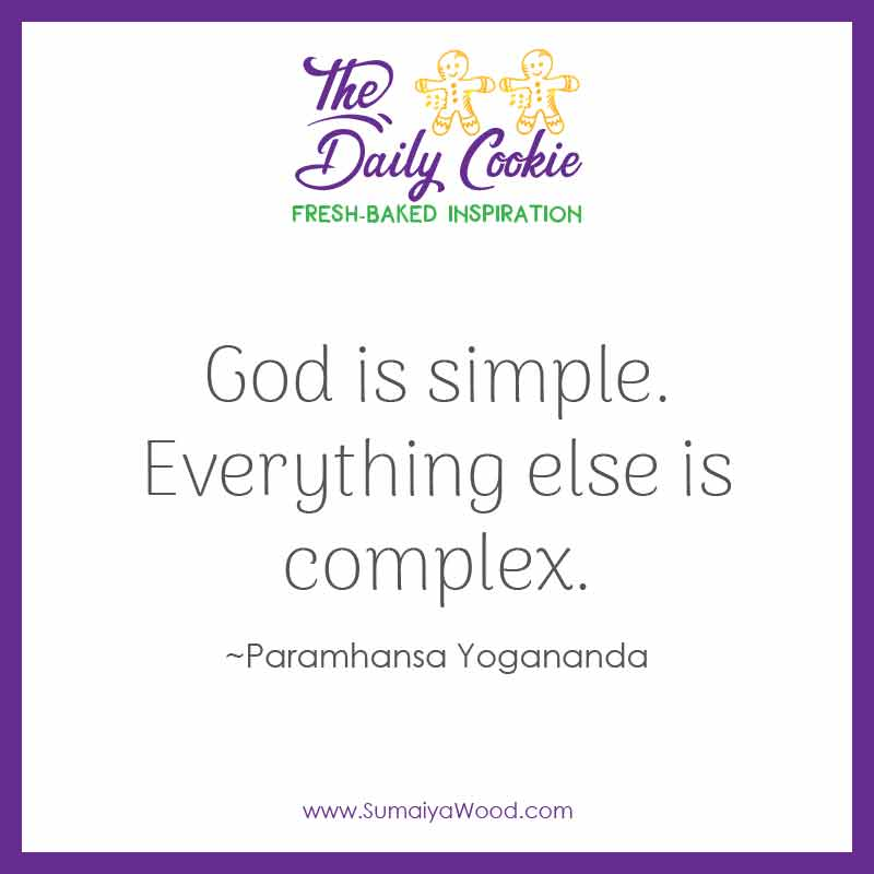 God Is Simple