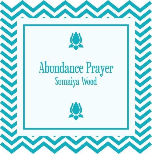 Affirmative prayer for abundance