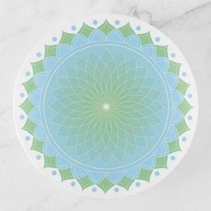 Lotus Mandala Trinket Tray